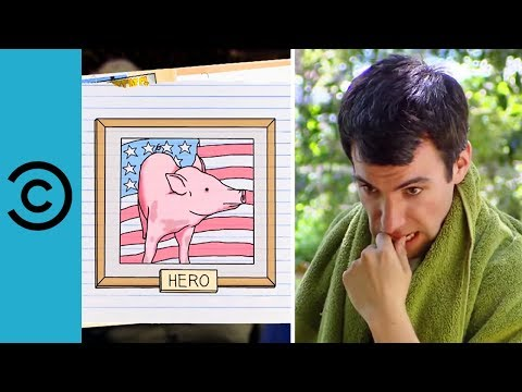 Hero Pig Saves A Drowning Goat | Nathan For You