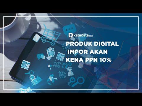 Produk Digital Impor akan Kena PPN 10% | Katadata Indonesia