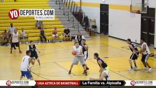 La Familia vs. Alpixafia Liga Azteca de Basketball final B