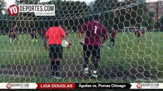 Aguilas del America vs. Pumas Chicago Liga Douglas