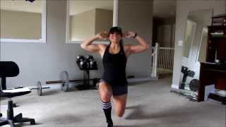 400 Bad Assery- An at home bodyweight workout for a Goddess Body