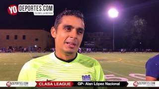 Alan Lopez Portero del Atlético Nacional en CLASA League Chicago
