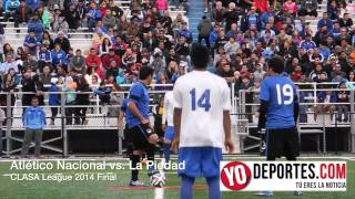 Atlético Nacional vs  La Piedad final 2014 CLASA League Chicago