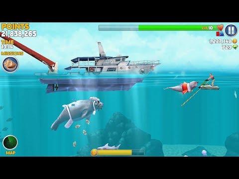 Hungry Shark Evolution Natasha The Narwhal Android Gameplay #25