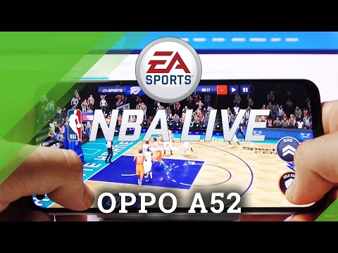 NBA Mobile on OPPO A52 - Gameplay