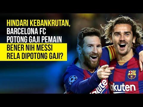 Hindari Kebangkrutan, Barcelona FC Potong Gaji Pemain