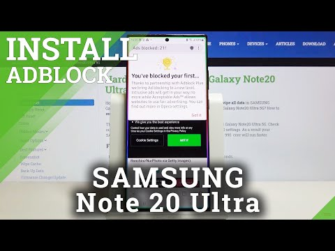 How to Block Ads in SAMSUNG Galaxy Note 20 Ultra – Block Advertisements