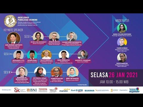 "Bisnis Indonesia Business Challenges 2021 ""Akselerasi Pemulihan Ekonomi"" Sesi I : Finansial"