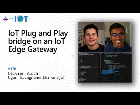 IoT Plug and Play bridge on an IoT Edge Gateway