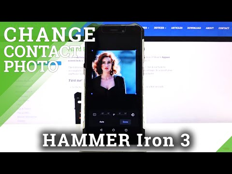 How to Personalize Contacts in Hammer Iron 3 - Add Photo to Contact
