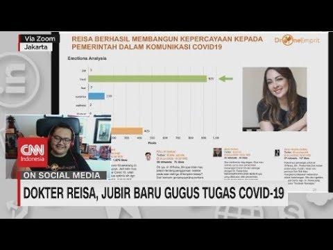 Dokter Reisa, Jubir Baru Gugus Tugas Covid-19