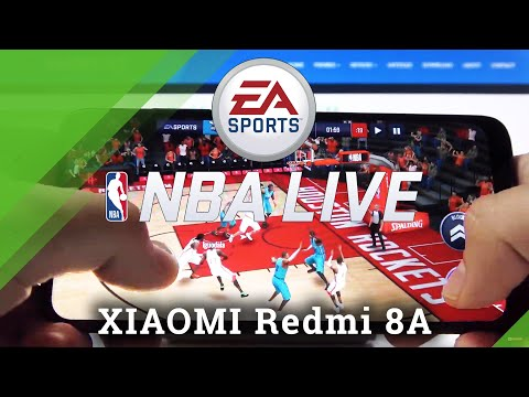 NBA Mobile Gameplay on Xiaomi Redmi 8A – NBA Gaming Performance Test