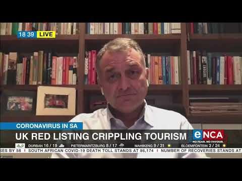 UK red listing crippling tourism