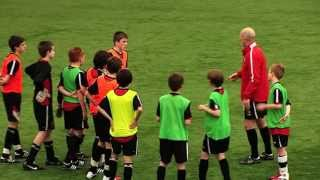 Youth Football Coaching: Movement For Crosses - Attacking Play