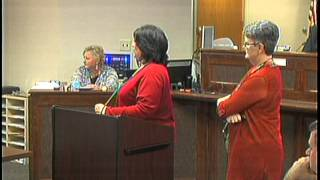121015 Springfield Tennessee County Commission Meeting October 15, 2012