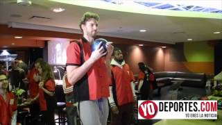 Chicago Bulls Bowling Party