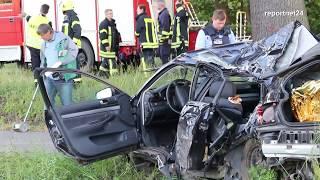 Zwei Jugendliche sterben bei Schwerem Unfall bei Schönwalde-Glien - Havelland