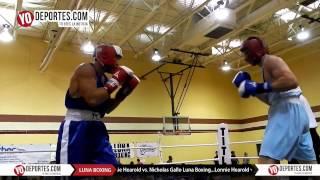 Lonnie Hearold vs. Nicholas Gallo Joliet Luna Boxing 2015
