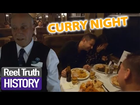 Curry Night on a 100 Year Old Train | Yorkshire Steam Railway | Reel Truth History Documentaries