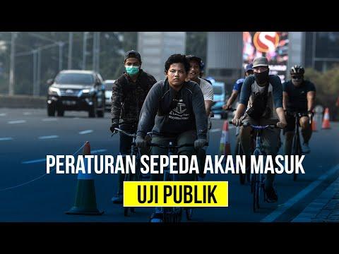 Peraturan Sepeda Akan Masuk Uji Publik