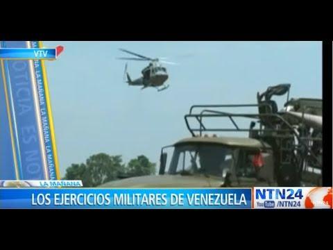 Régimen venezolano comenzó ejercicios militares en zonas fronterizas