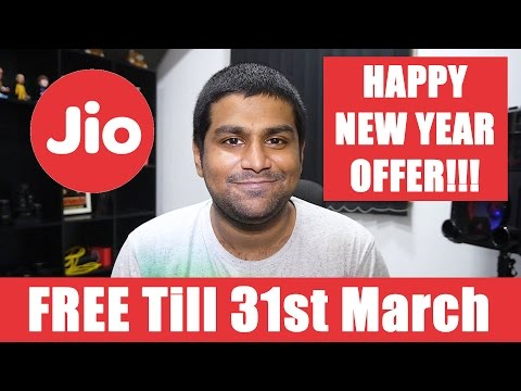 hqdefault FREE Jio till 31st March 2017 - Happy New Year Offer #AshTalks 10 Technology