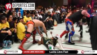 Lucha Libre Fest semifinal en Cicero Stadium