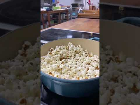 How to Make Popcorn Without a Microwave #Shorts