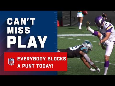 Panthers Punt Block Return for TD