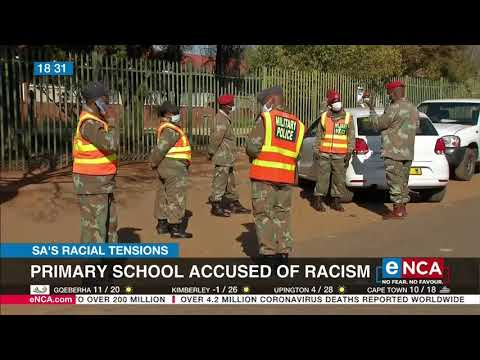 Primary school accused of racism