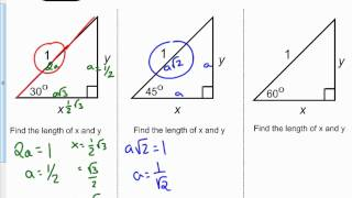 trig functions 30 60