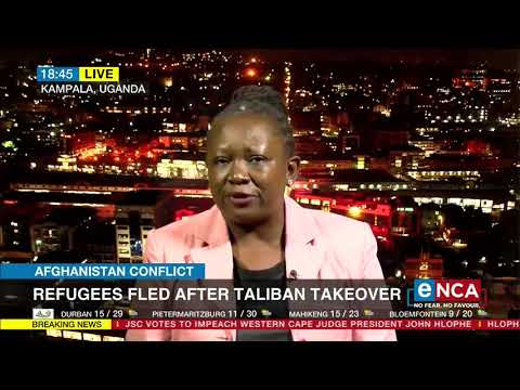 Uganda welcomes Afghan refugees