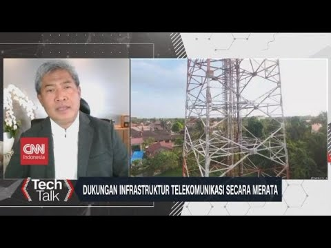 Dukungan Infrastruktur Telekomunikasi Secara Merata