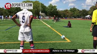 Azteca vs. CD Hidalgo Final Liga Interamericana Chicago