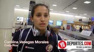 Carolina Venegas Morales autora del gol de Costa Rica a Mexico en el premundial