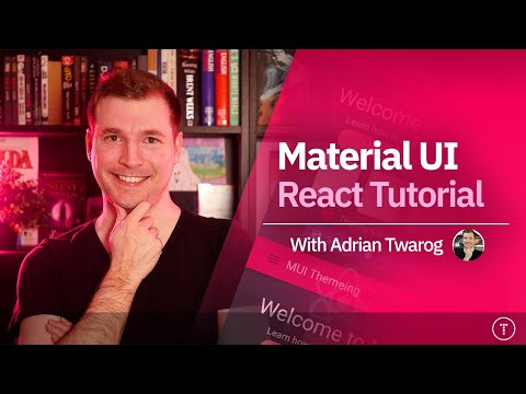 Material UI React Tutorial