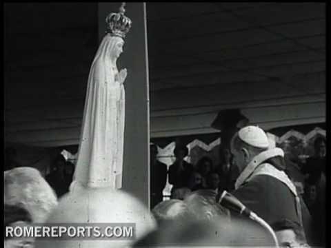 Pablo VI   la primera visita de un Papa a Fátima