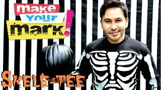 How to: Halloween Skele-Tee