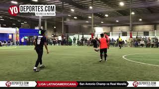 San Antonio Champions vs. Real Morelia Liga Latinoamericana