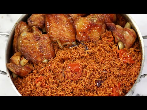 How To Cook Perfect Party Jollof Rice : Tips for Smoky Nigerian Party Jollof Rice