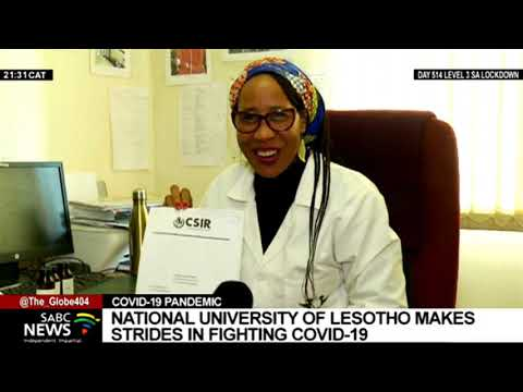 COVID-19 | National University of Lesotho making great strides in the fight against the pandemic