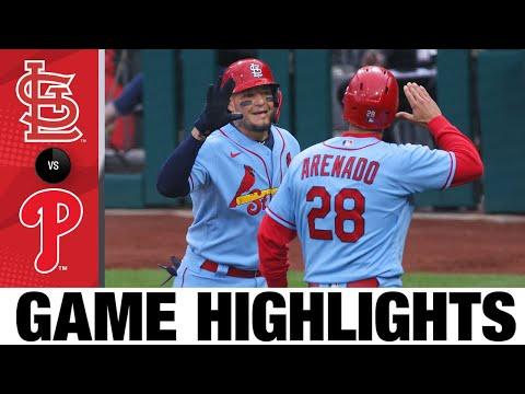 Cardinals vs. Phillies Game Highlights (4/17/21) | MLB Highlights