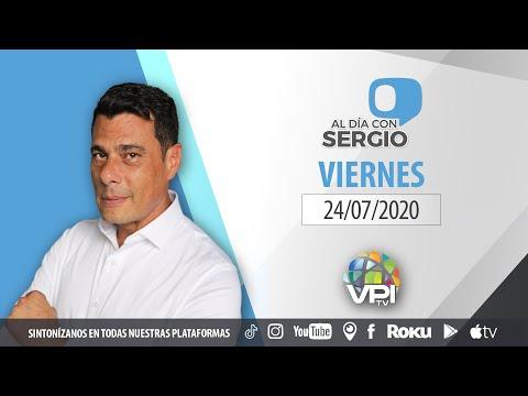 EN VIVO - Al Día con Sergio Novelli - Viernes 24 de Julio