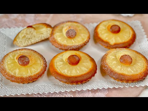 DOLCETTI ALL'ANANAS, very easy to prepare in 5 minutes! Asmr video # 212