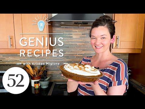 Key Lime Meringue Pie with a Secret Ingredient   Genius Recipes