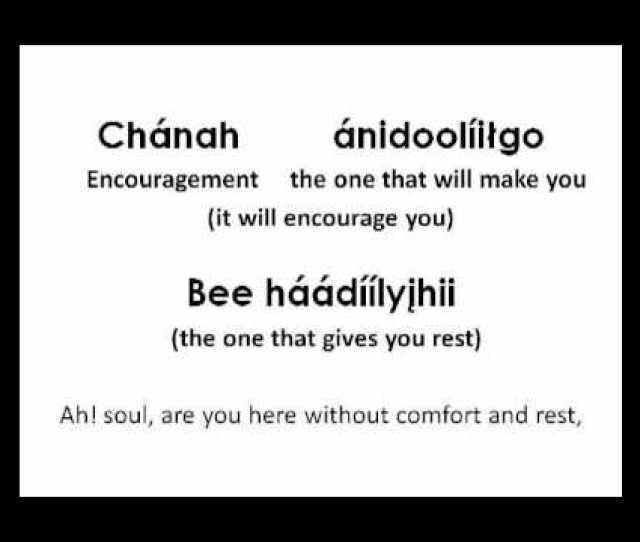Wonderful Peace Navajo Lyrics
