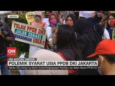 Polemik Syarat Usia PPDB DKI Jakarta