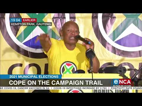 2021 Municipal Elections | Cope on the campaign trail