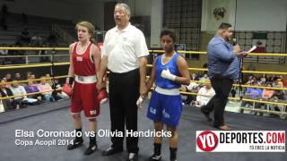 Elsa Coronado vs Olivia Hendricks