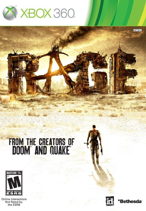 Rage (2011) PAL XBOX360-SPARE